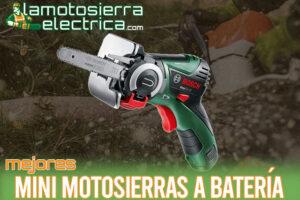 Las mejores mini motosierras a batería del mercado
