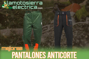 Los mejores pantalones anticorte para motosierras | Guía completa